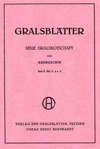 Gralsblaetter